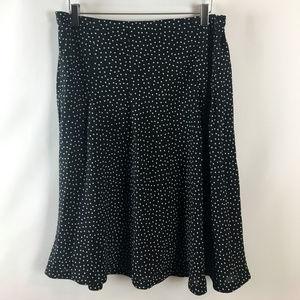 Jaclyn Smith Womens Polka Dot Flare Skirt